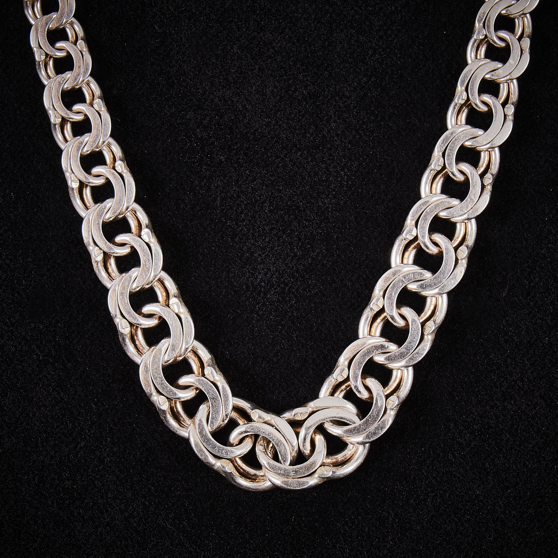 bismarck halsband silver