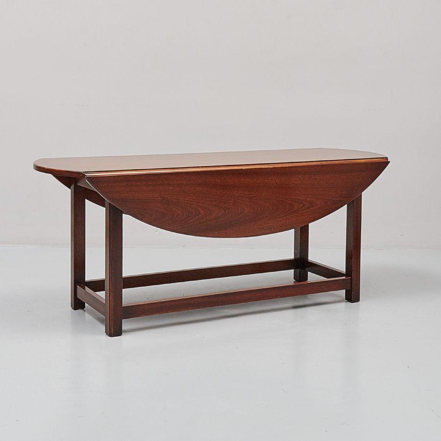 Soffbord, Hunters Table, Längd 135 Cm, Djup 43 + 2×24, Höjd 55 Cm Metropol Auktione