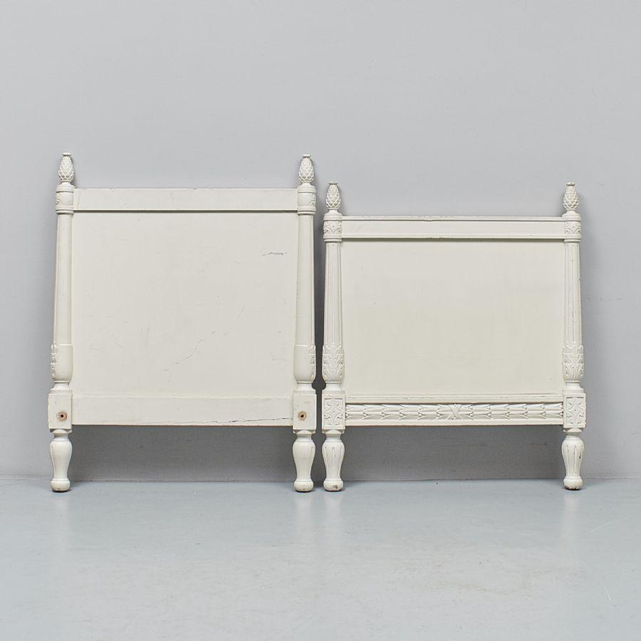 Sängram, Gustaviansk stil, 195×90 Metropol Auktioner i Stockholm och på nätauktion med konst