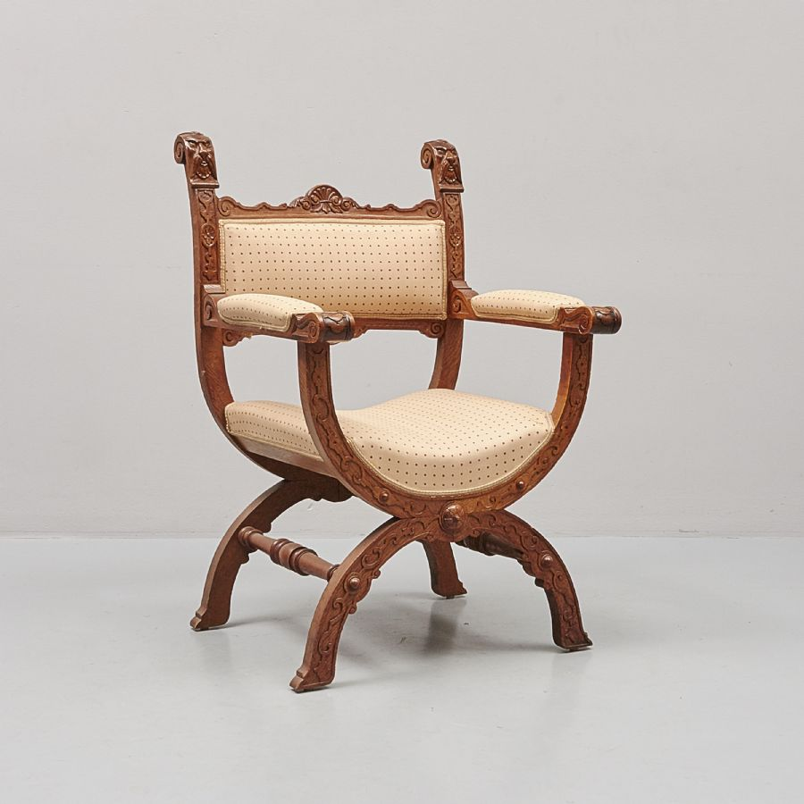 dantestol auktion ~ karmstol, dantestol metropol  auktioner i stockholm och