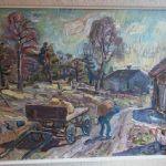 1295002Oljemålning