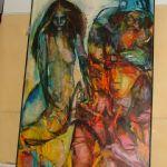 3353206Oljemålning