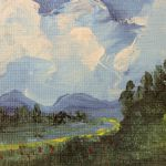 9513587Oljemålning
