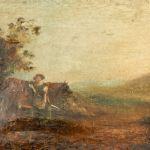 9201319Oljemålning