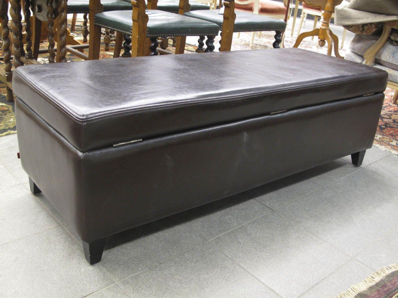 Bänk, Med Förvaring, Skinn 622 7400 Metropol Auktioner