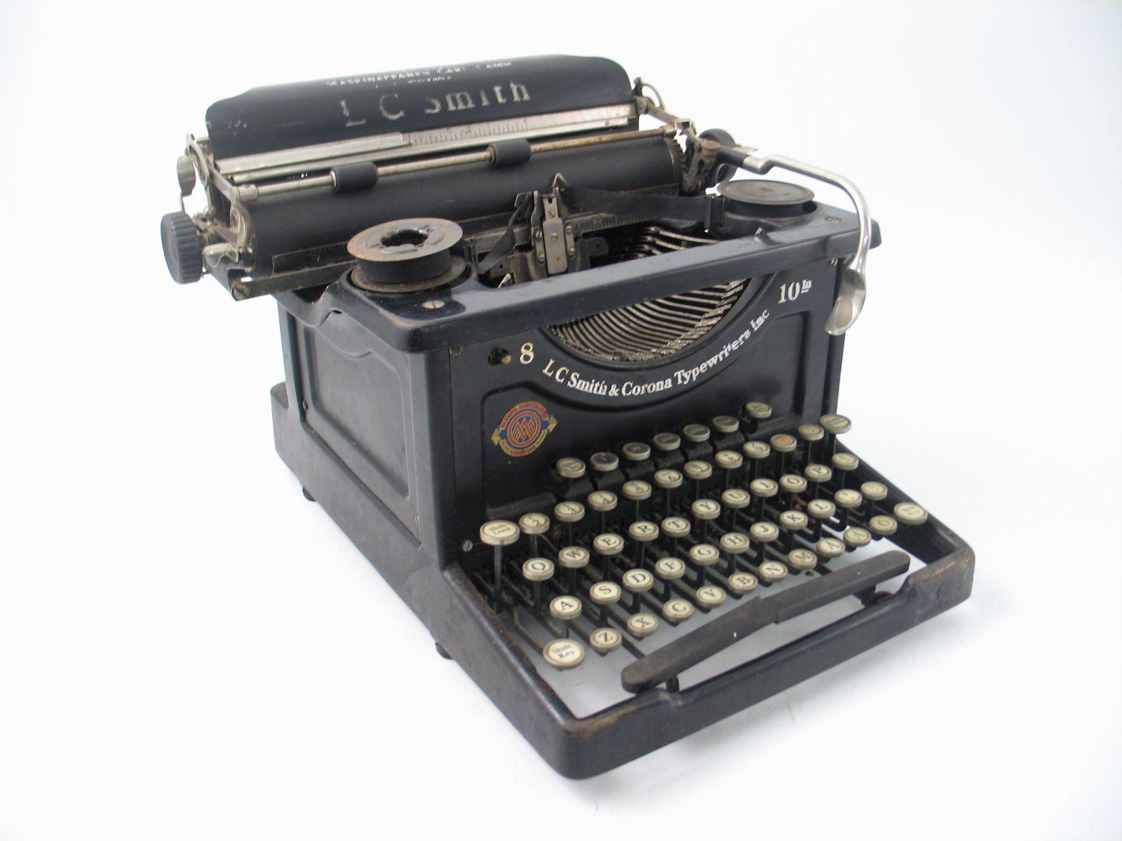 lc smith skrivmaskin