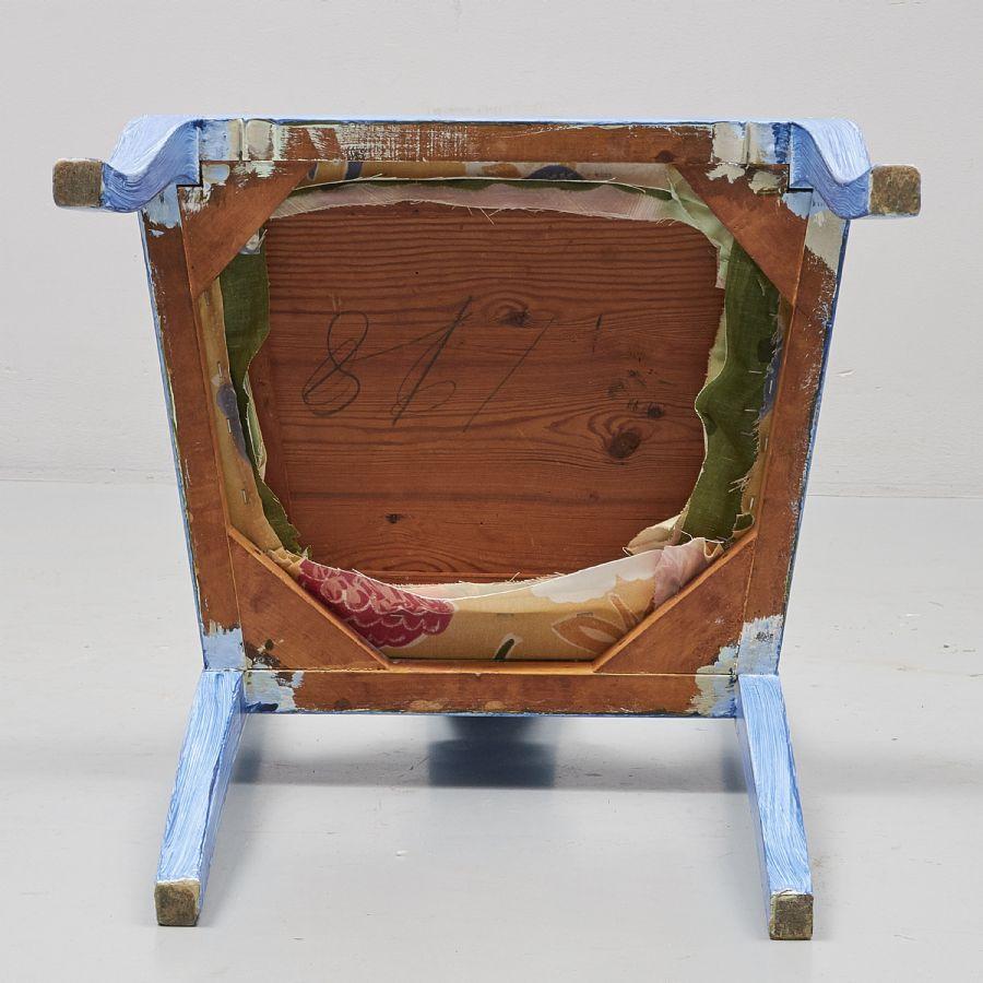 Skrivbord, Bemålat, längd: 90 cm, djup: 60 cm, höjd: 75 cm