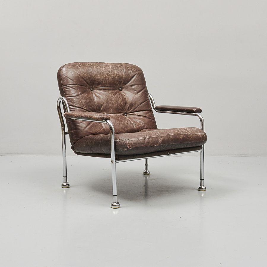 Buztic com fåtölj skinn metall ~ Design Inspiration für die neueste Wohnkultur
