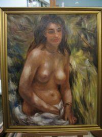 konst naken flicka